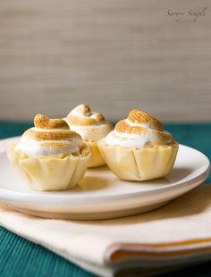 Orange Meringue Tarts with Grand Marnier - Savory Simple