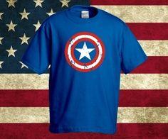 1e7d1ba1b7 Amerika Kapitány póló rendelhető a Pólóműhelytől. Captain America póló,  bosszúálló bevonattal :)