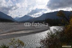 Berglandschaften der Tiroler Alpen am Ahornboden
