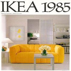 Photo of Catalogue, 1985 80s Interior Design, 1980s Interior, Interior Ideas, Interior Decorating, 80s Furniture, Furniture Design, Sofa Design, Espace Design, Art Deco