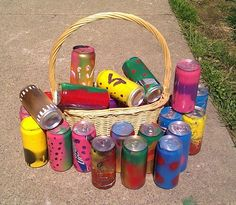 """To be mixed in with eggs for """"adult"""" Easter egg hunt...tacky, wonderful.- maybe not beer for me but something like this would be awesome!"""