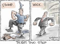 Political cartoons of the week: Blomberg trial inspires new dance move