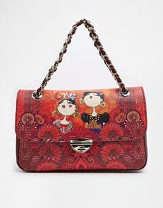 Love Moschino Charming Shoulder Bag, in love with these Love Moschino's bag line.