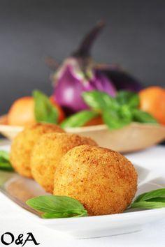 Ricetta arancine alla parmigiana