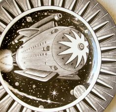 Space Ship plate