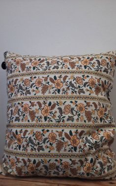 Check out this item in my Etsy shop https://www.etsy.com/listing/472432961/large-vintage-floral-boho-throw-pillow
