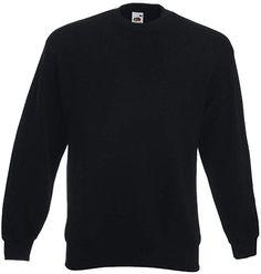 Super!  Bekleidung, Herren, Sweatshirts & Kapuzenpullover, Sweatshirts Fruit Of The Loom, Sweatshirts, Classic, Sweaters, Mens Tops, Black, Amazon, Products, Hoodie