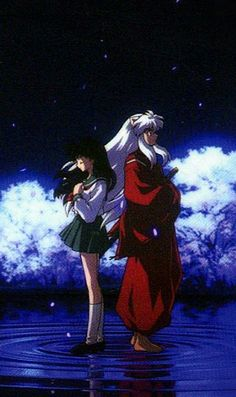 Amor Inuyasha, Inuyasha Fan Art, Inuyasha And Sesshomaru, Kagome And Inuyasha, Kagome Higurashi, Cute Anime Pics, Anime Love, Loki, Arte Sailor Moon