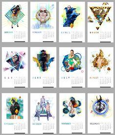 Inspirational Desk Calendar Desk Design Ideas
