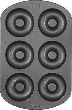 News Wilton Nonstick 6-Cavity Donut Pan   buy now     $8.88 Great for family projects, baked doughnuts are more delicious, easier to make and healthier than fried doughnuts. Durable nonst... http://showbizlikes.com/wilton-nonstick-6-cavity-donut-pan/