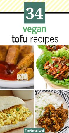These Vegan Tofu Recipes are simple, healthy and perfect for beginners, too. From lettuce wraps to stir fry, to curry and tacos, easy vegan recipes with tofu will make the family's favorite dinners! Vegan Recipes Beginner, Best Vegan Recipes, Vegan Dinner Recipes, Tofu Recipes, High Protein Recipes, Recipes For Beginners, Vegan Dinners, Whole Food Recipes, Favorite Recipes