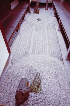 Small inner rock garden (Totekiko) in Ryogen-in Zen temple inside Ditoku-ji temple complex, Kyoto, Japan