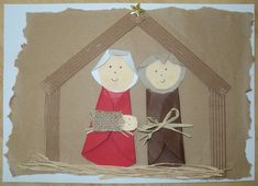Betlém - Marie, Josef a Ježíšek Christmas Art Projects, Christmas Decorations For Kids, Christmas Arts And Crafts, Xmas Crafts, Christmas Themes, Diy And Crafts, Childrens Christmas, Kids Christmas, Magic Crafts