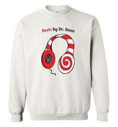 cool Beats by Dr Seuss - Read Across America Day Sweatshirt