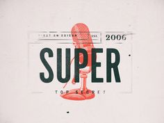 Little Fun designed by Nick Franchi for Super Top Secret . Connect with them on Dribbble; Type Design, Logo Design, Graphic Design, Ad Design, Typography Design, Lettering, Ticket Design, Logo Restaurant, Document