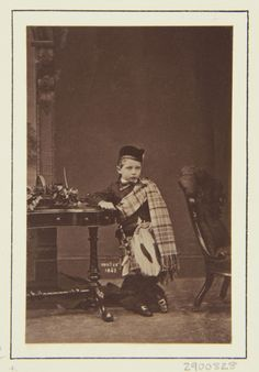 The Royal Collection: Prince William, son of the Crown Prince and Crown Princess of Prussia, Windsor 1863 [in Portrai