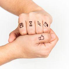 OK Computer - Tattoonie #t4aw #computer #tattoonie #tattoo