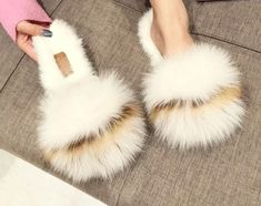 72253abfdf4 25 Best Fur slides images in 2019