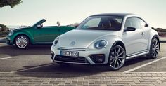 This gonna be the coming VolksWagen Beetle Facelift.After 5 years the Facelift has to come. Both models will come with new design features and colors. They are coming too with 150HP and a R-Line design.