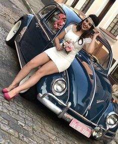 #VolkswagenCountryBuggy   - Autos - #Autos #VolkswagenCountryBuggy Carros Retro, Hot Vw, Bus Girl, Vw Vintage, Perfect Legs, Vans Girls, Trucks And Girls, Vw Cars, Sexy Cars