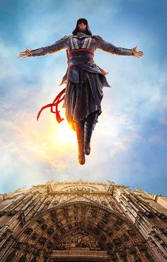 """""""Leap of Faith"""" ~ Assassins Creed movie, Michael Fassbender. Assains Creed, All Assassin's Creed, Deutsche Girls, Assassins Creed Series, Assasins Creed Movie, Assassin's Creed Black, Assassin's Creed Wallpaper, Graphic Novel, Video Game Art"""