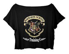 Women's Crop Top Harry Potter Tshirt Magic Harry Potter Shirt (black) http://www.amazon.com/dp/B0166GEPMK/ref=cm_sw_r_pi_dp_Q2lgwb0N4THSA