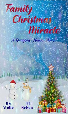 Christmas is coming, and the members of the Stark and Bloom clans are getting ready to celebrate it together, under one roof, for the first time after many years. But, when Zoe Stark comes across a letter that remained hidden for more than fifty years, things get complicated. Christmas Is Coming, Family Christmas, Christmas Bulbs, Dragon House, Character Home, Bloom, Lettering, Holiday Decor, Dragons