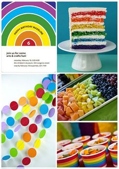 Rainbow Loom Birthday Party on the @FineStationery Blog #rainbowloom