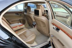 Mercedes S Class Long Edition. Athens Private tour with limousine. Mercedes S Class, Car Seats
