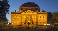 'Hessisches Staatstheater, Wiesbaden' von Torsten Krüger bei artflakes.com als Poster oder Kunstdruck $7.55