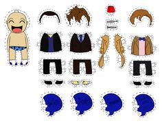 The Doctor Paper Doll