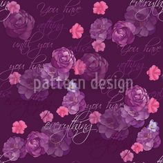 The Flowers Will Tell You Everything created by Martina Stadler offered as a vector file on patterndesigns.com