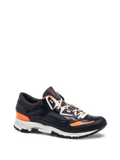 Lanvin - TRAINER SNEAKER - AM5ENTRVNPC7B - Sporty-looking low sneaker in metallic goatskin and fabric.