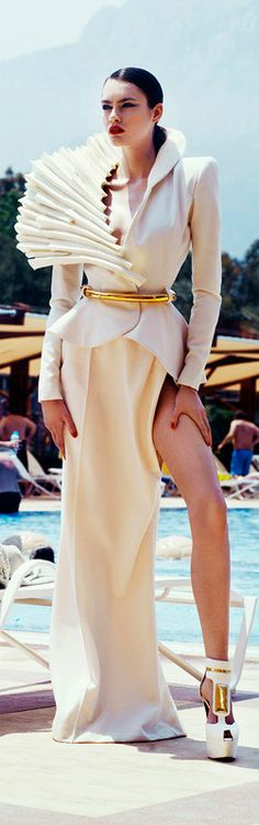 Stéphane Rolland/ Ughh!! I never know what to wear to the pool!!/ ♥ Lovely~ Madorie Darling ♥