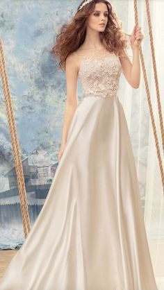 Featured Dress: Papilio; Wedding dress idea.