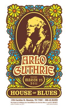 Arlo Guthrie - part of the Mountain Stage celebration of the Marshall Artists Series 4/29/11!