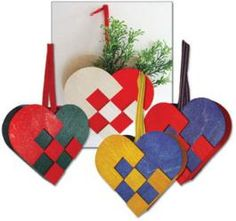 Plated Christmas heart, a classic