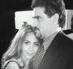 This is a young Gaga ( Stefani Germanotta) with her father <3