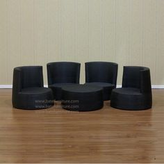 Obelisk Rattan Living Set