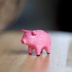 Le Hot Pink Pig Totem - le animalé