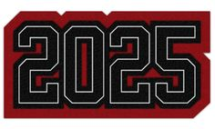Connected Year Graduation Class Patch, 2025  #chenilleyear #varsityjacket #varsityjackets #jacketpatch #graduationpatch #graduationclass #schoolaward #neffco #grads #2025