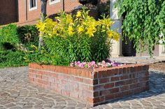 Hochbeet Mauern Anleitung In 3 Schritten über die Brunnen Mauern Klinker