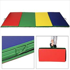 Thick Folding Panel Gymnastics Mat Gym Fitness Exercise Multicolor Gymnastic Mat Can Be Used For Various Physical Activities Not Only In Gymnastics Gymnastics Equipment, Gymnastics Mats, Gym Workouts, At Home Workouts, Big Building, Baby Yoga, Gym Mats, Soft Play, Mat Exercises