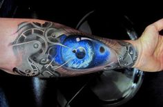 Eye Forearm Tattoos Ideas For Men
