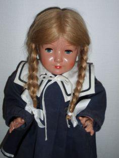 Schildkroet-Puppe-034-Brigitte-034-Schildkroet-in-Raute-REP-1985-46-Nr-02718