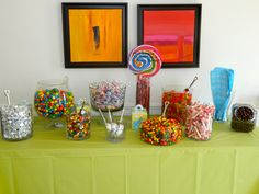 candy bar for my sister's baby shower.