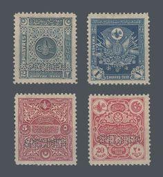 Ottoman postal Stamps