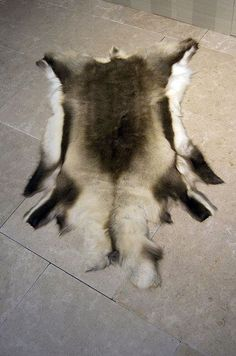 Our natural reindeer hides are perfect as throws, wall hangings or rugs. As featured in our latest luxury dining room interior design scheme