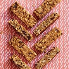 Whole-Grain Breakfast Bars Recipe | Cooking Light #myplate #wholegrain #dairy