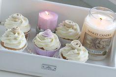 Vanilla Satin Roses Cupcakes | Passion 4 baking